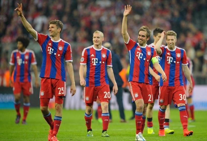 Results Bayern Munich 6-1 FC Porto (Agg 7-1)