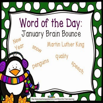 S.O.L. Train: Moments That Count in the Classroom: Word of the DAY ...