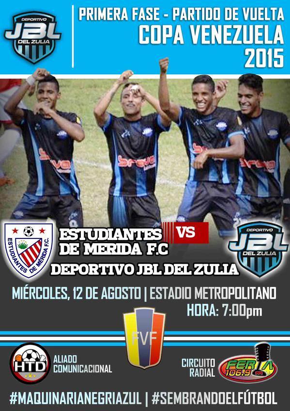 Vuelta Copa Venezuela en Mérida ante Estudiantes