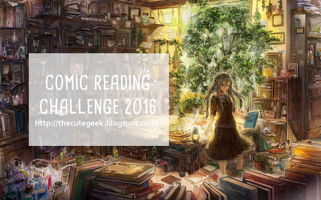 Comic Reading Challenge 2016