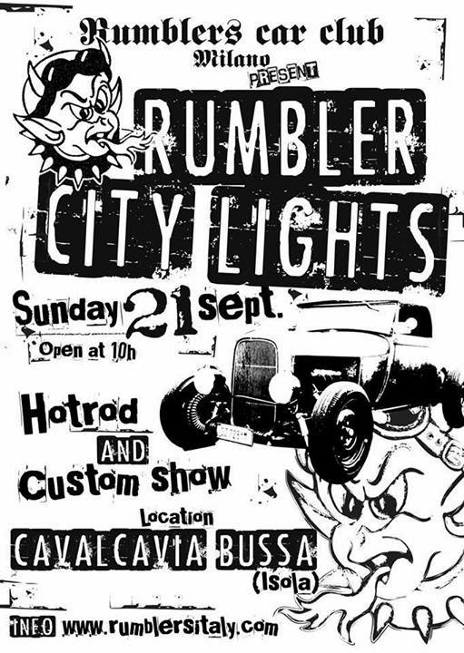 Rumbler City Lights 2014
