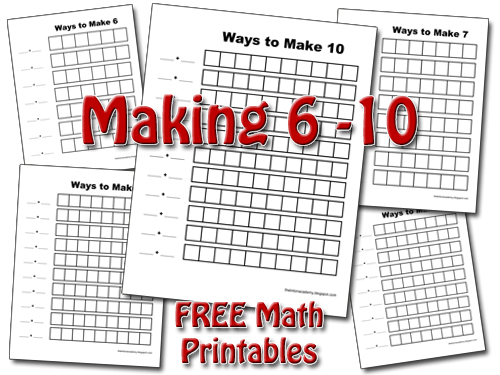 ways to make 10 math worksheets addition missing addend free printable worksheets. Black Bedroom Furniture Sets. Home Design Ideas