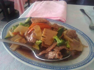 Maiale alle verdure al ristorante cinese di Biella, Giardino di Giada