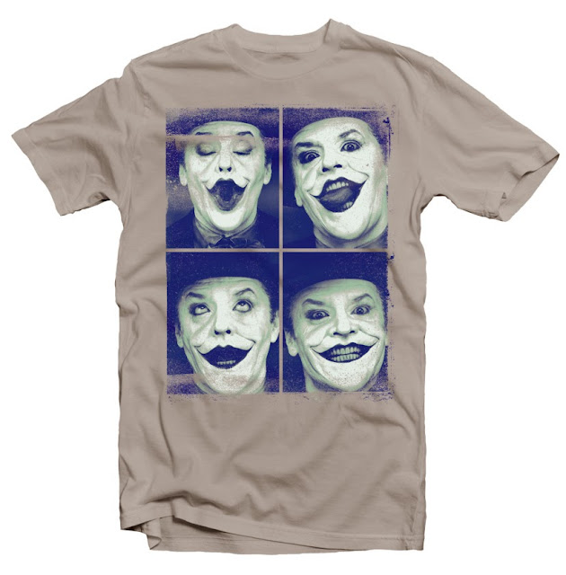 joker collage photo tshirt design