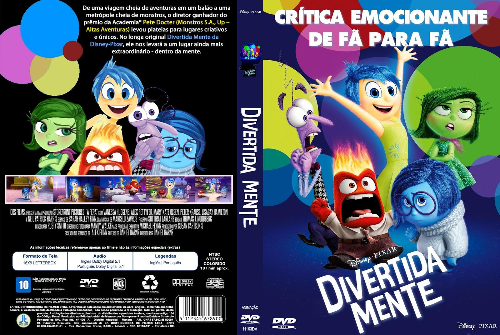 Download Divertida Mente BDRip XviD Dual Áudio Divertida 2BMente