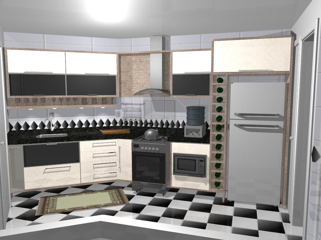 : Imagens renderizadas de cozinhas criadas e executadas pela ATUALLE #766355 1024 768