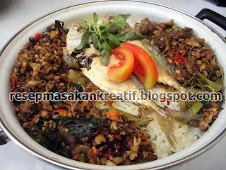 Resep Nasi Liwet Tutug Oncom Ikan Peda