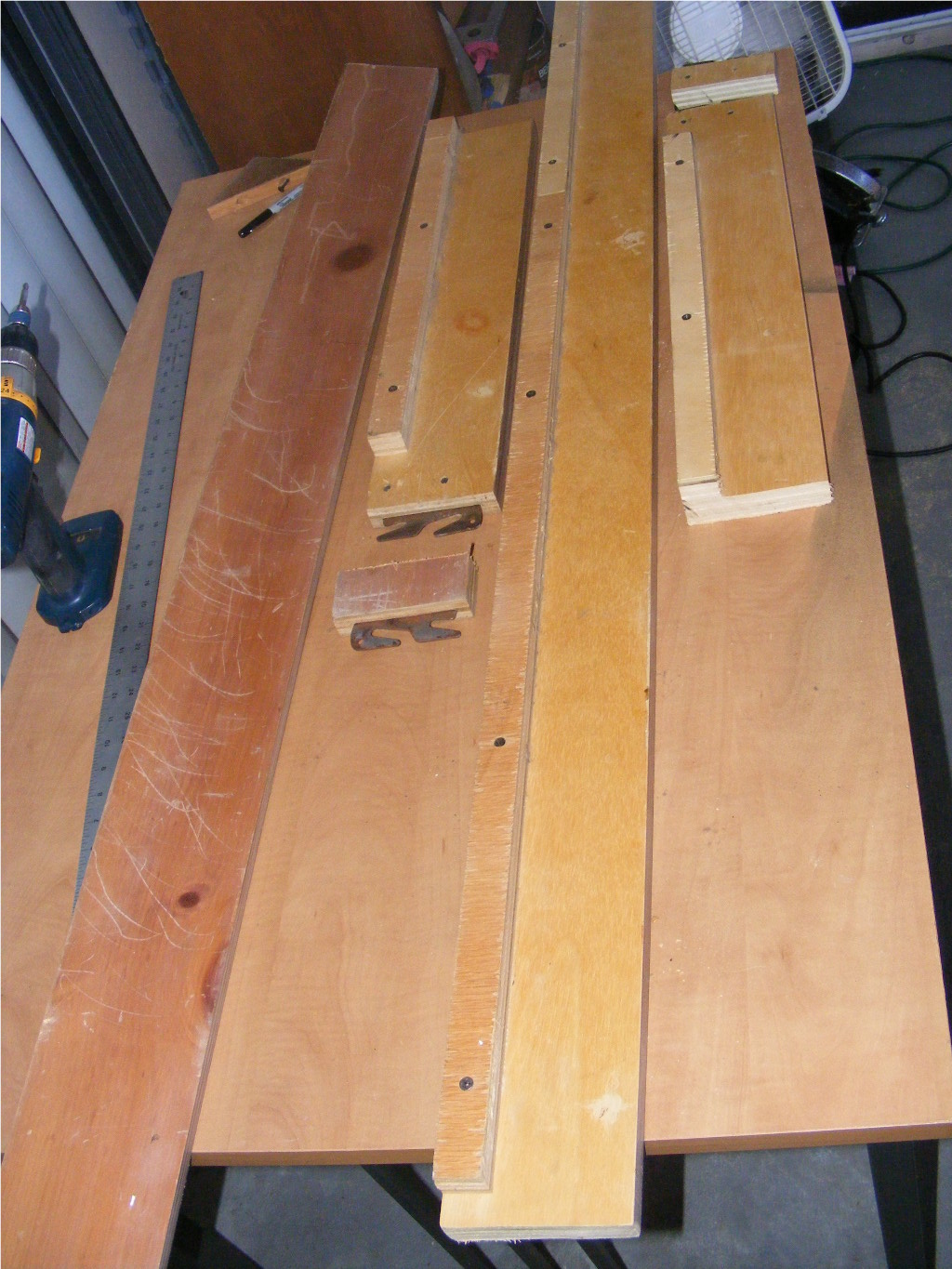 John's Creative Projects: QUEEN SIZE BED FRAME MADE INTO ...