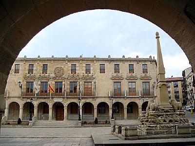 Soria plaza mayor, ciudad