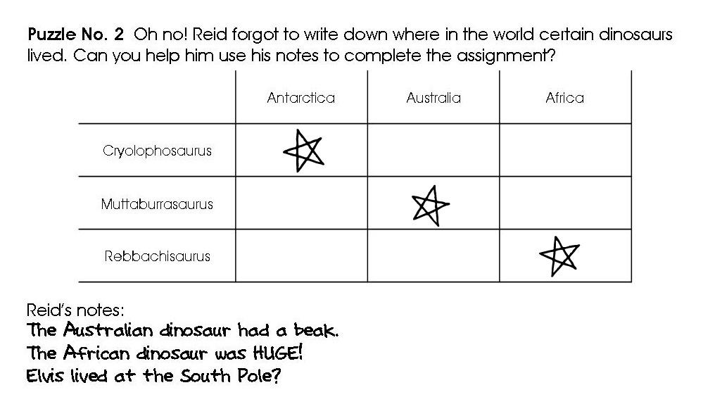 Relentlessly Fun, Deceptively Educational: Dinosaur-themed Logic ...