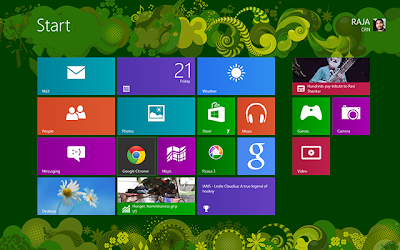 Cara Transform Windows 7 ke Windows 8 Metro UI Style