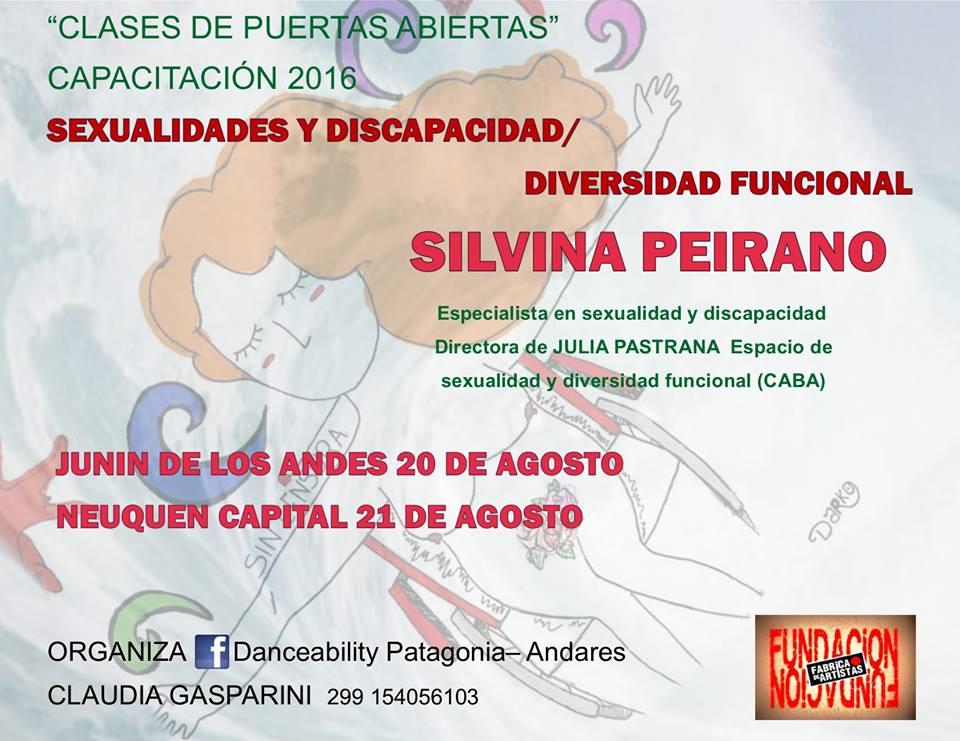 Capacitación en SEXUALIDADES y discapacidad/diversidad funcional.