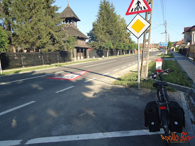 Bicicleta Manastirea Sf. Ilie
