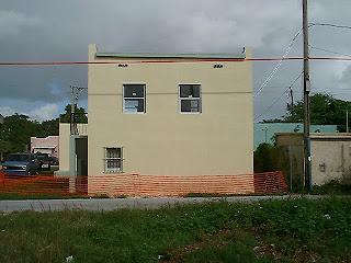 1184 Duplex Back Unit Finished Painting.