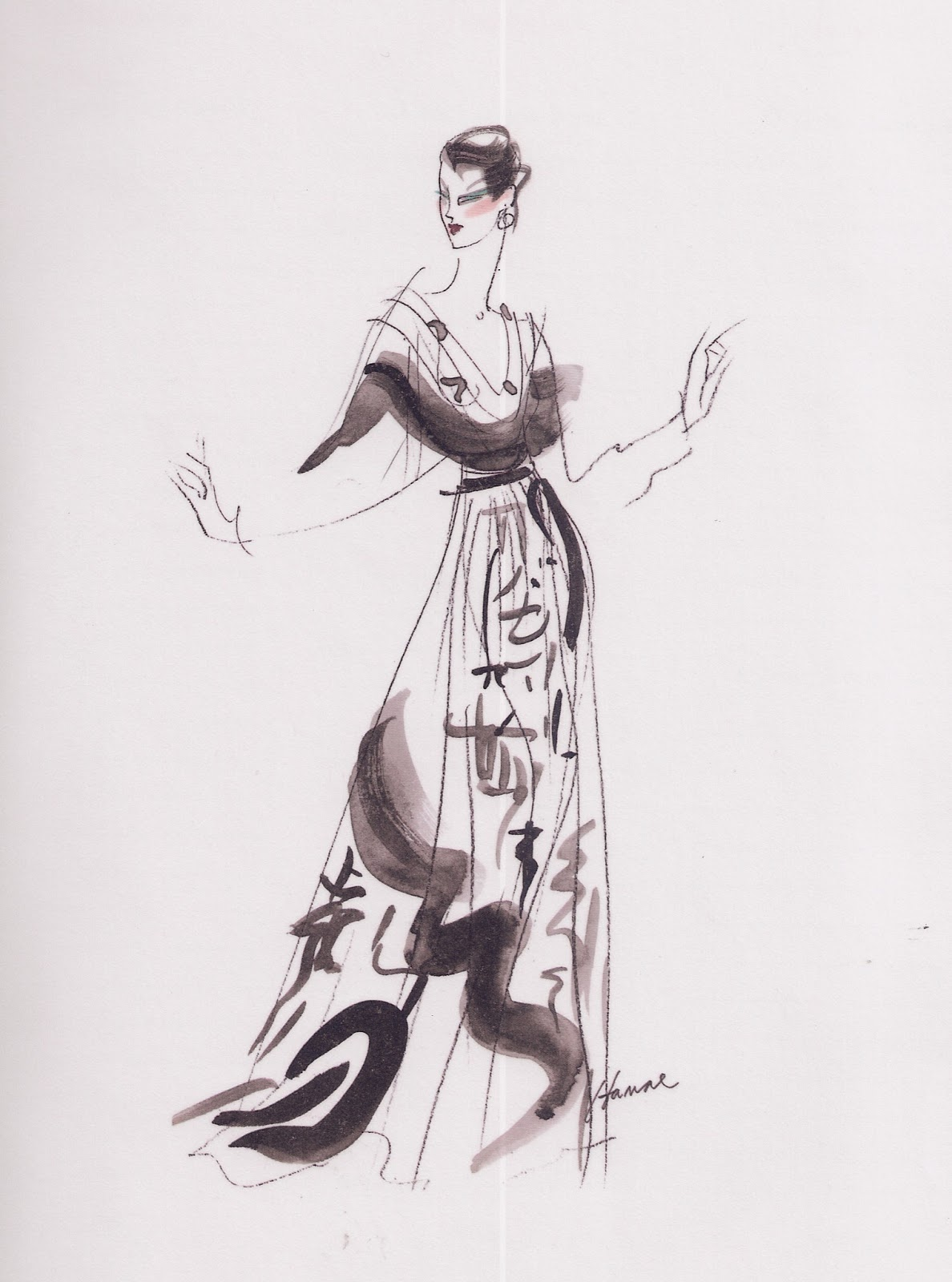 According to braswell fashion illustrations geoffrey Fashion designer geoffrey
