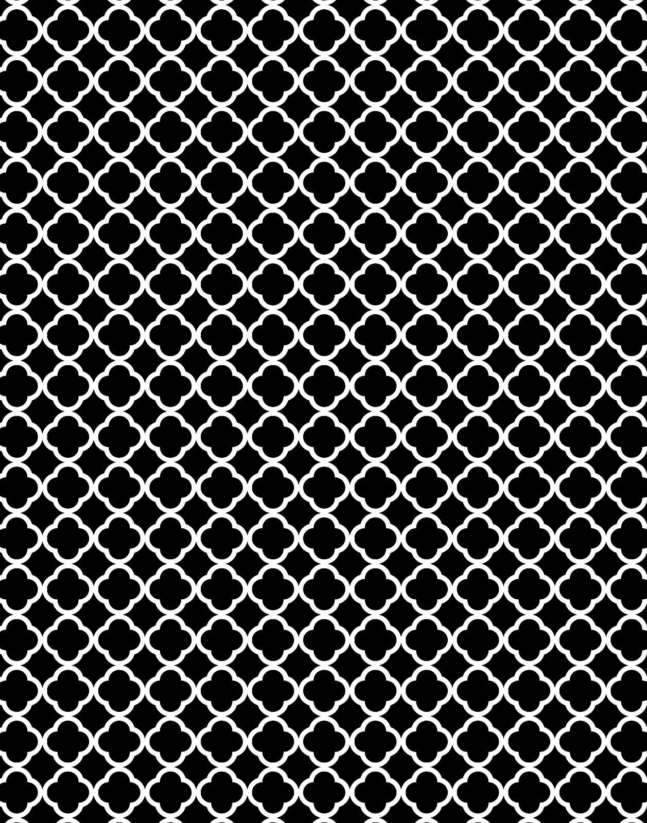 quatrefoil pattern background - photo #23