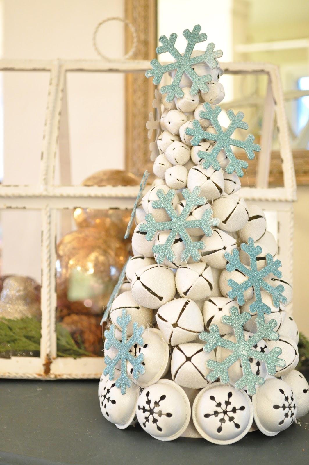 Make a jingle bell tree jennifer rizzo for Unusual christmas trees