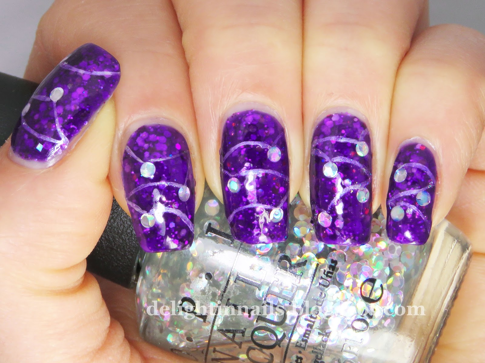 Delight In Nails: 40 Great Nail Art Ideas - New Year