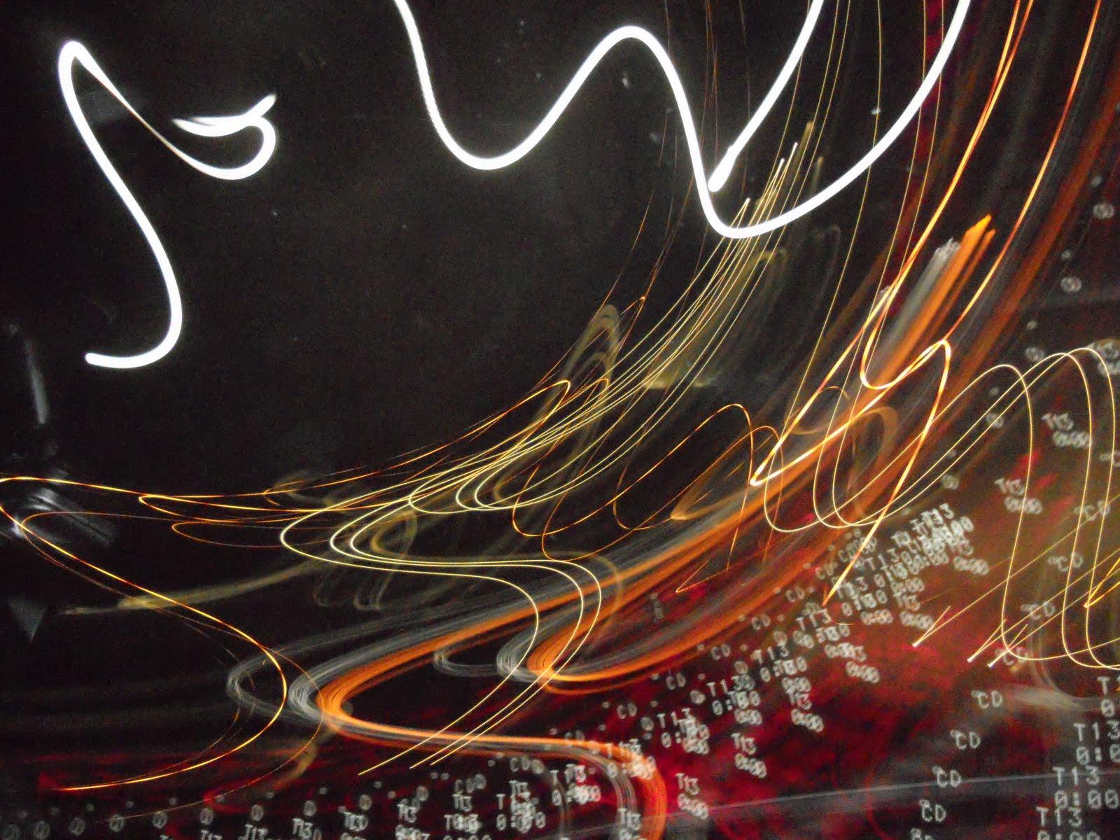String Lights Doodle : LIGHT DOODLES