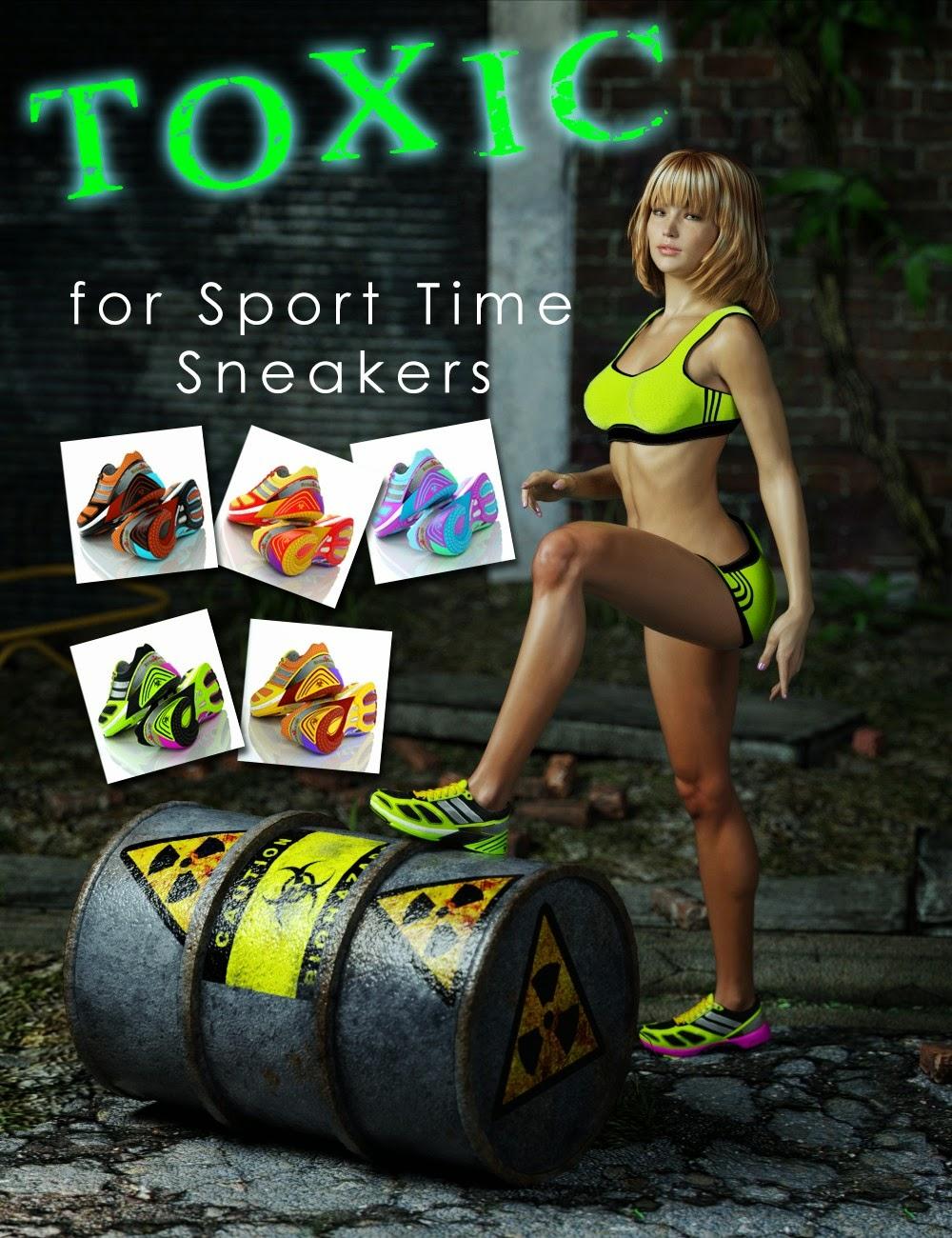 Toxique pour le sport Temps Sneakers