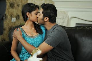 Nikitha Pawar Kisses Prince in MOvie Dollars Colony Lovely Romantics Pics