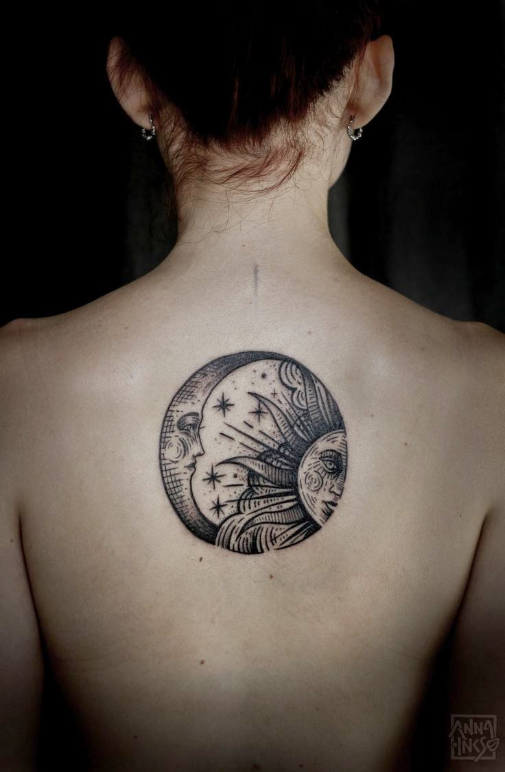 three moons tattoo - photo #18
