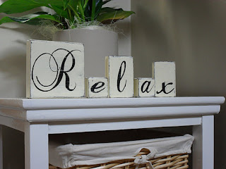 shabby chic, wood blocks, relax, handmade, homemade