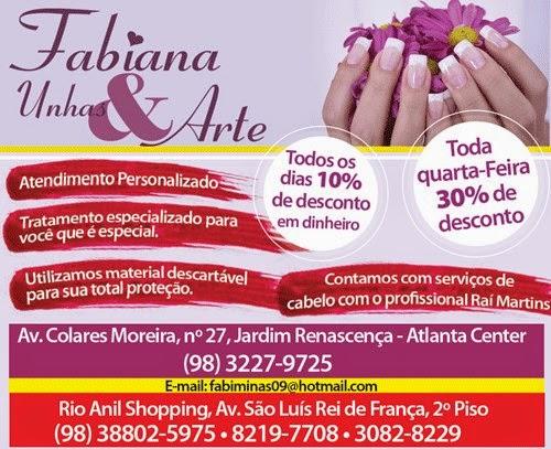 Fabiana Unhas e Artes!