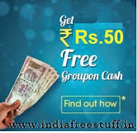 Free Rs. 50 Groupon Cash
