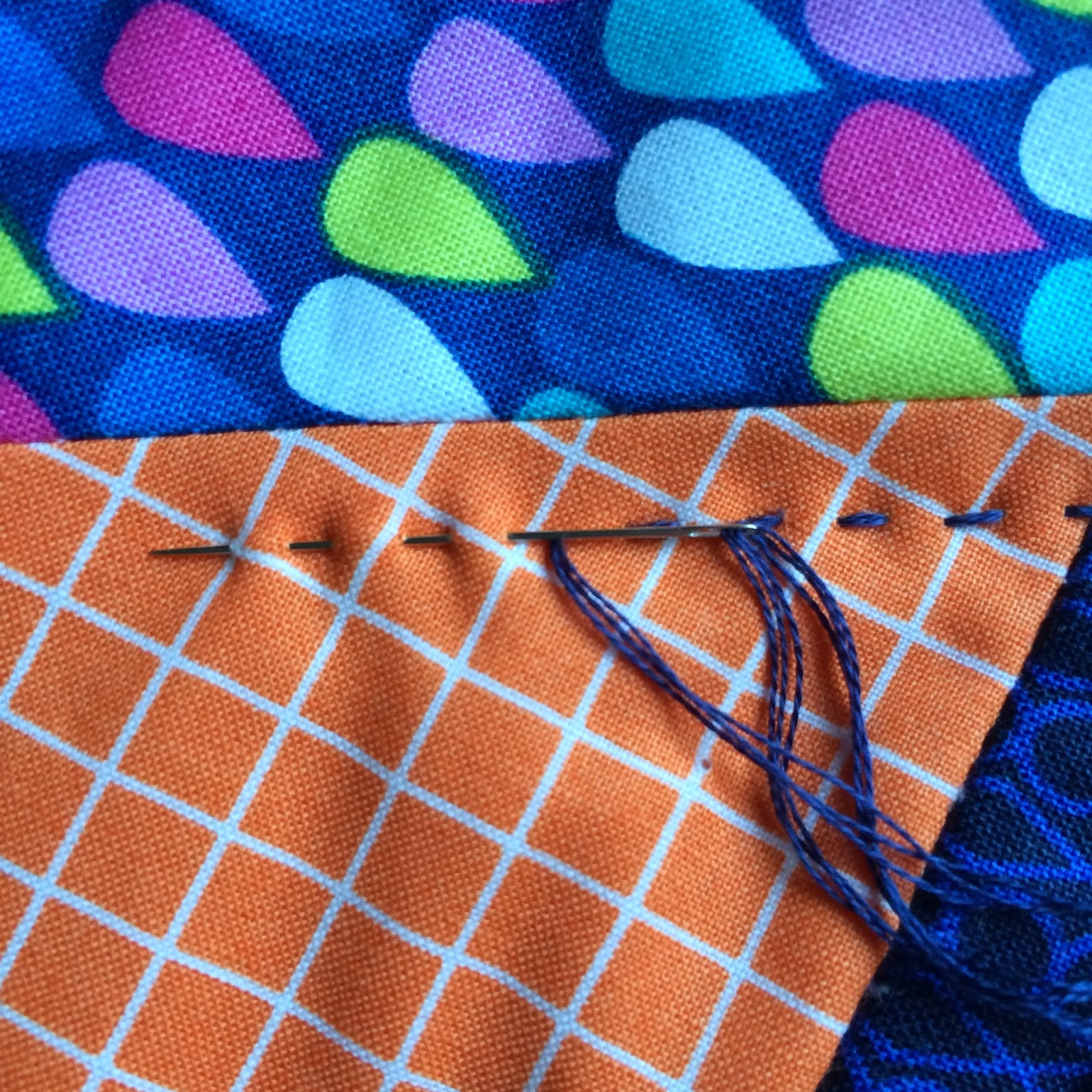 big stitch hand quilting tips / charm about you