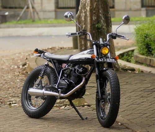 Simpel Manis Dan Minimalis Honda Gl 100 1991 Studio Motor