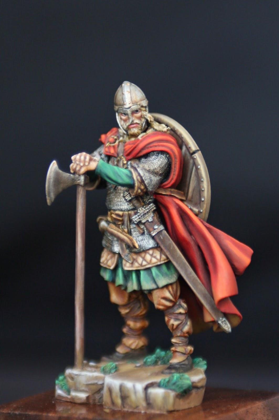 Painting Miniature Metal Figures