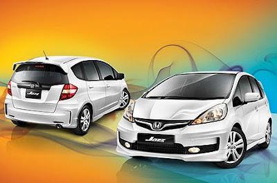 Spesifikasi Honda Jazz