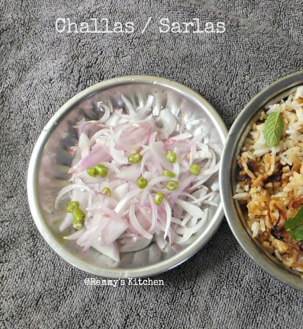 Challas /  Sarlas