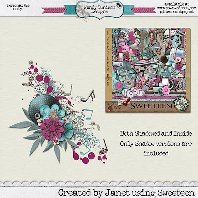 More Templates from Wendy Tunison Designs, A Matting Action and A Freebie