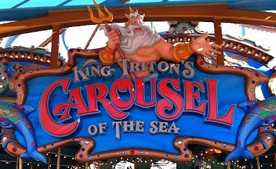 King Triton's Carousel Triton Paradise Pier