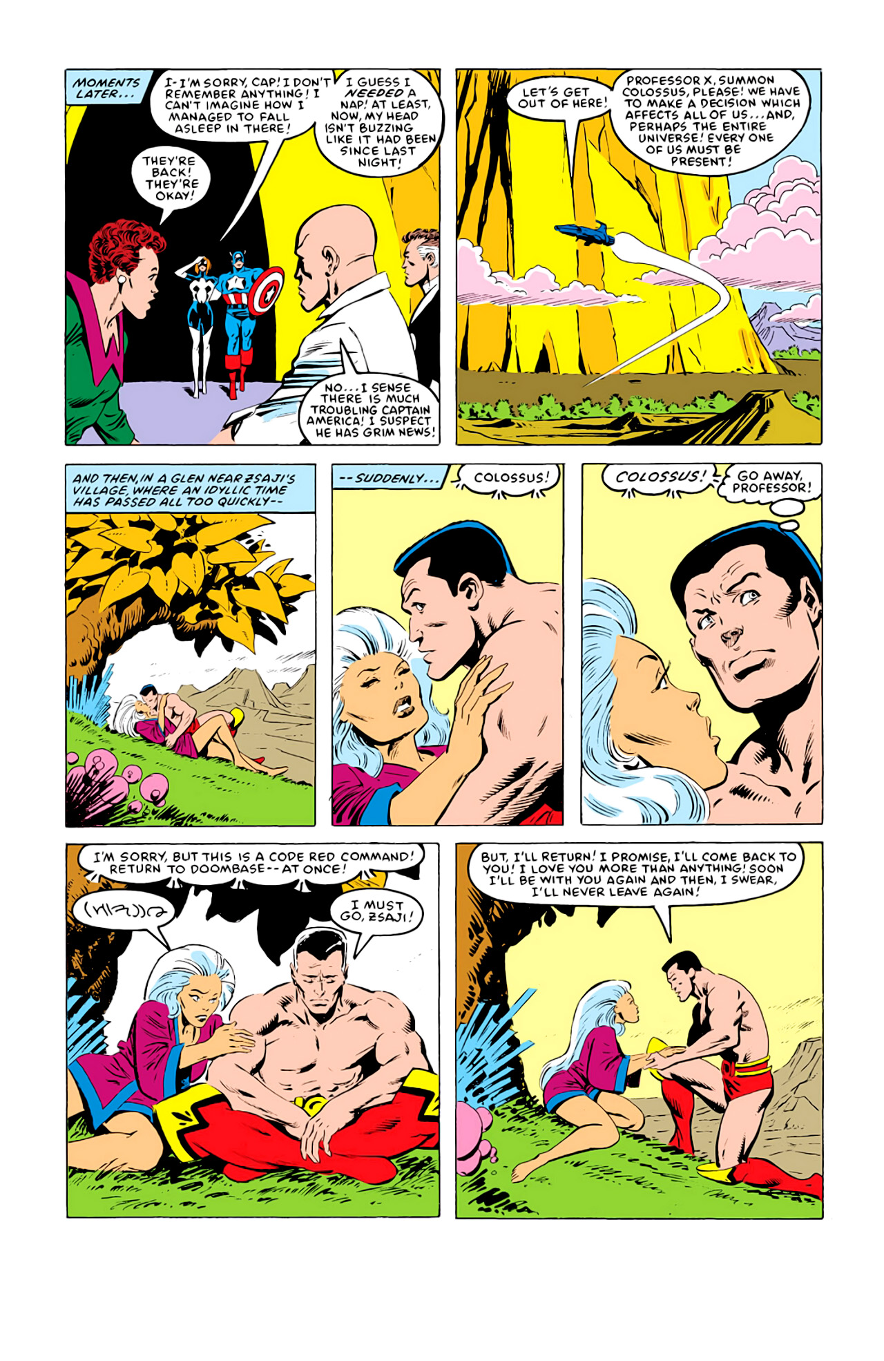 Captain America (1968) Issue #292l #219 - English 23