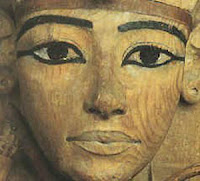 Escultura egipcia. Egipto a tus pies. Ley de la frontalidad.