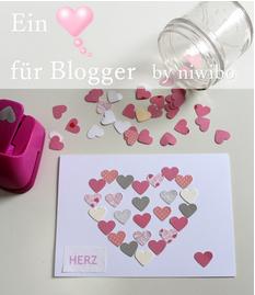 Ein ♥für Blogger