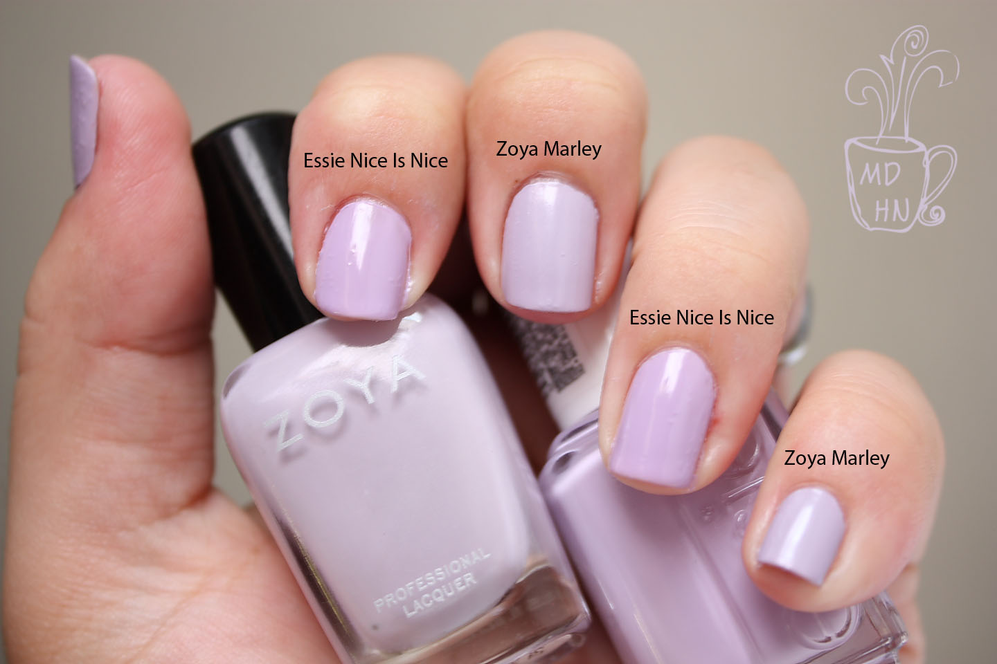 Mommy Does Her Nails: Zoya Marley and Essie Nice and Nice... Face-off