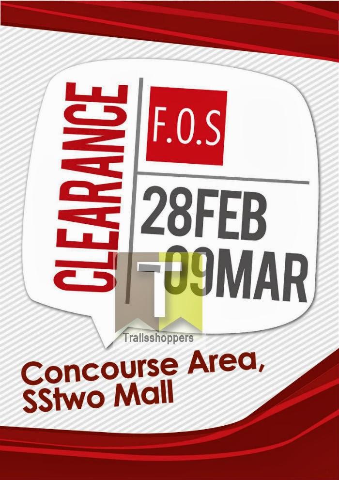 F.O.S fos clearance sale sstwo mall apparels petaling Jaya