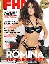 Romina Belluscio en FHM