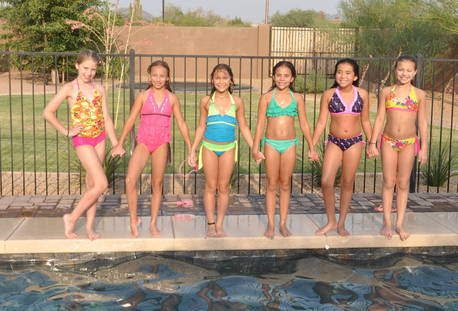 party picture swim teen