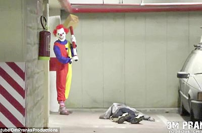 Killer Clown Returns Scare Prank! – FUNNY VIDEO