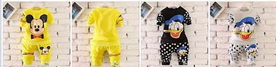 baju set mickey