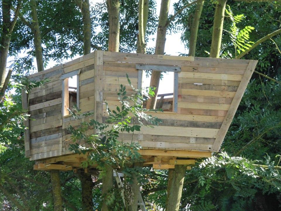 Casita en el rbol para nuestros hijos - Como construir una casa en un arbol ...