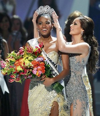 Miss Angola Leila Lopes