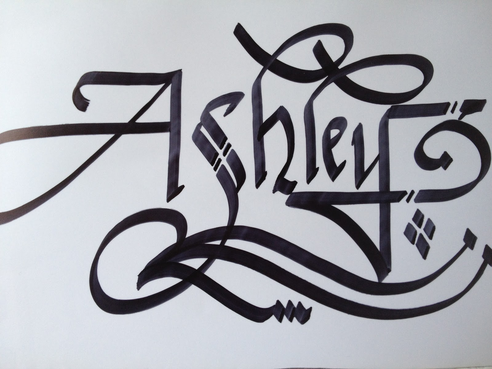 Calligraphy art girl names in ashley adele