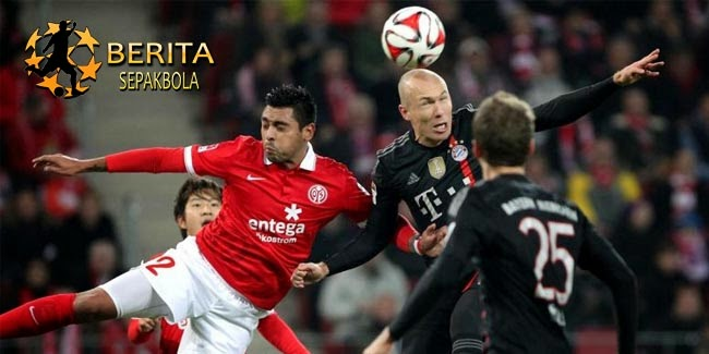 Berkat Robben, Bayern Raih 3 Angka di Kandang Mainz
