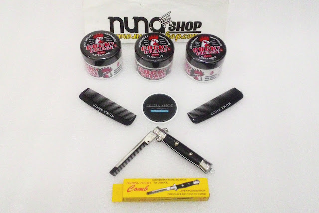 Nuna Shop Jual Pomade Cool Grease Cock Grease XXTra Hard Hair Pomade